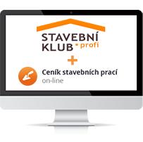 Stavebn� klub profi a Cen�k stavebn�ch prac� online